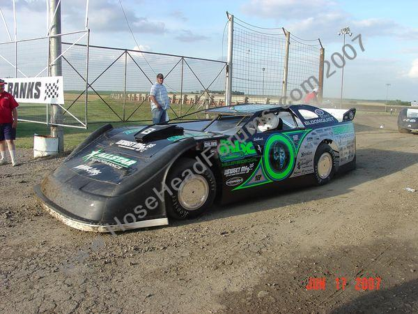 Scott Bloomquist WoO LateModels Belleville, Ks 2007