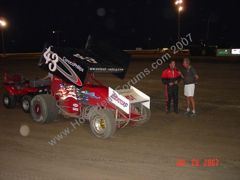 Mike Peters 360 NCRA Bellville, Ks 07/06/2007