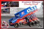 Bradley Terrell Wins Pit Stop USA Sprint Car Series Race 10 at Petaluma Speedway