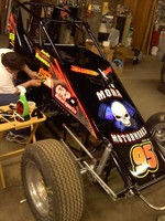 Kevin Bradwell's non-wing UMSS Sprinter.