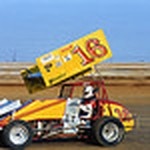 Jeff Gordon Sprint Car