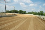 Selinsgrove Speedways newly widened third and fourth turns