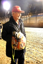 Parnelli Jones at Perris for 2014 Turkey Night Midget Grand Prix