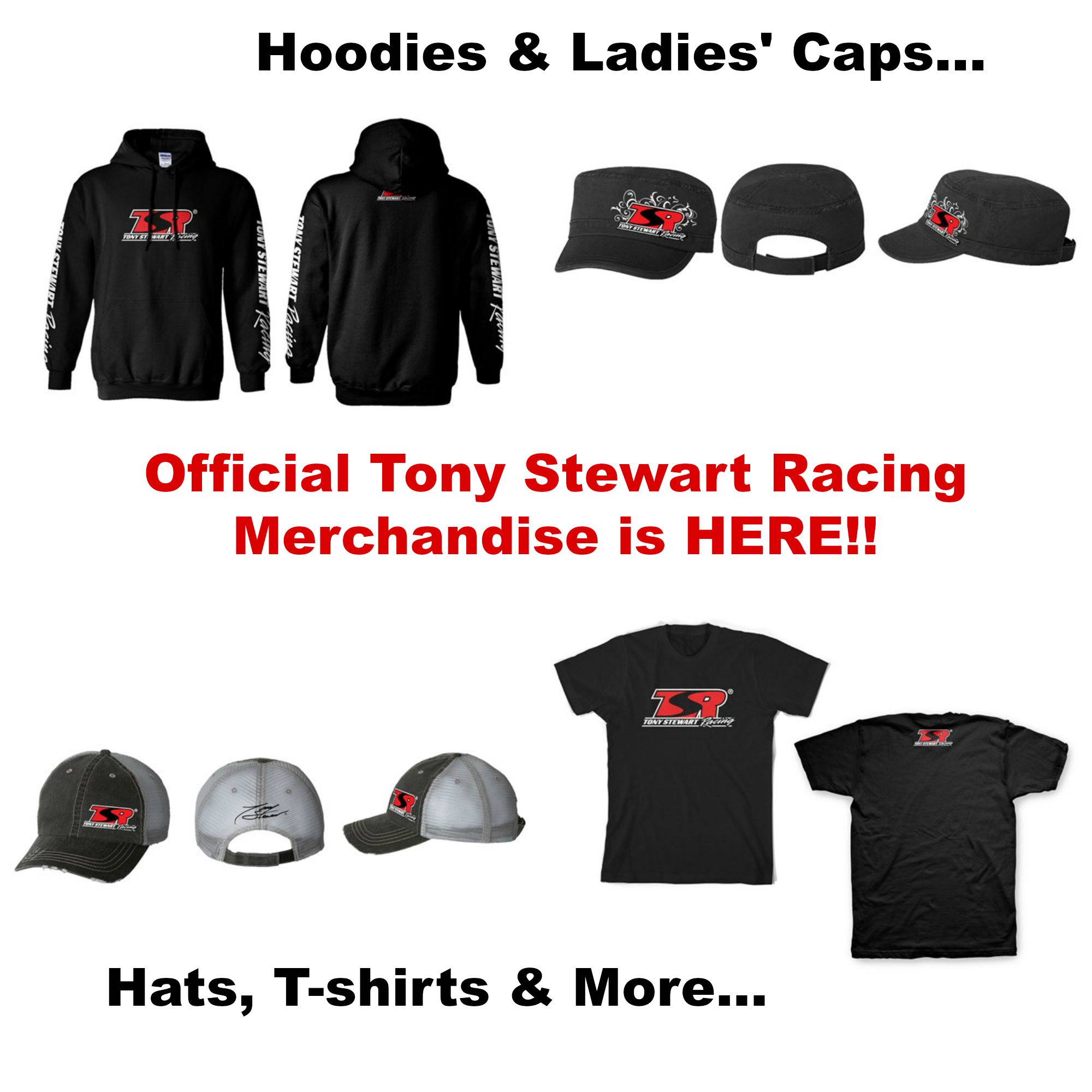 Now Available Tony Stewart Racing Official Merchandise Page 1