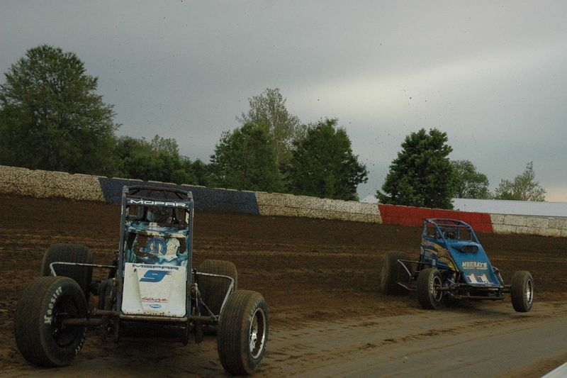 Brad Sweet leads Hunter Scheurenberg